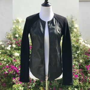 Raquel Allegra Leather Jacket retailed for $1000+